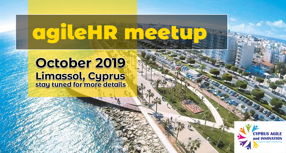 An AgileHR meetup in Limassol